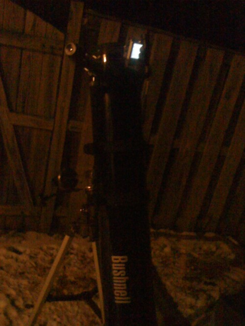 Old Bushnell telescope